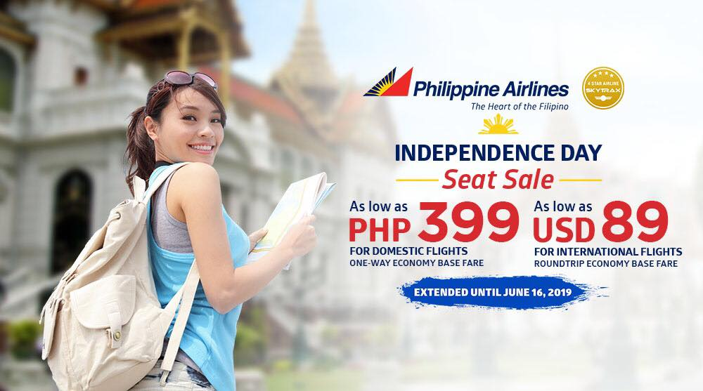 Manila Shopper Pal Independence Day Seat Sale May June 2019