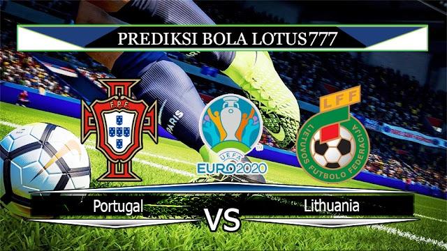 Prediksi Portugal vs Lithuania 15 November 2019