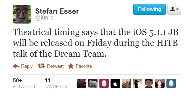 iOS 511 untethered release date