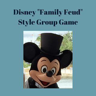 Disney Family Feud Style Group Game