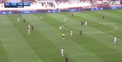 اهداف مباراة ميلان ورينو على | الدوري الايطالي 3-2  ac-milan-vs-torino-fc