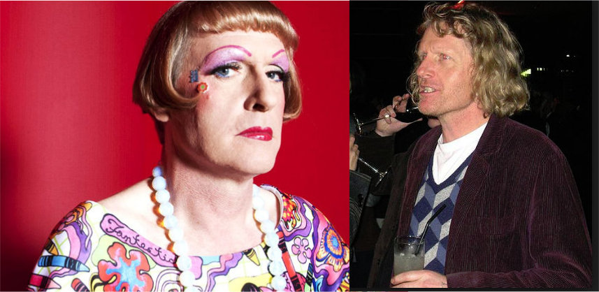 It Is Not My Purpose Here To Discuss The Two Famous People In UK Who Regularly Dress Womans ClothingEddie Izzard And Graysonspoken About