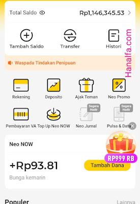 Cara Daftar dan Klaim Saldo Rp20 Ribu di Neo+ Plus Aplikasi Penghasil Uang Terbukti Membayar Terdaftar di OJK