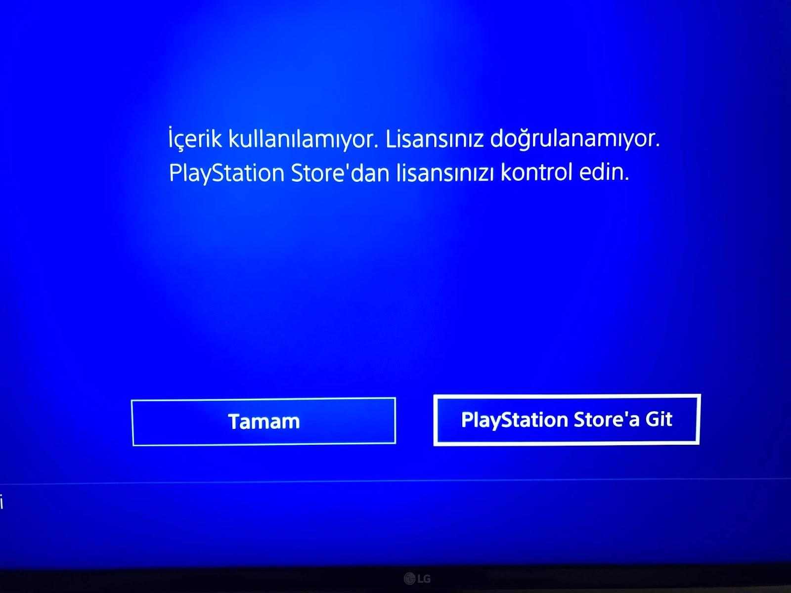 Playstation titanfall sorunu