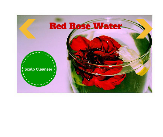 How to Cleanse Your Scalp With Red Rose Water