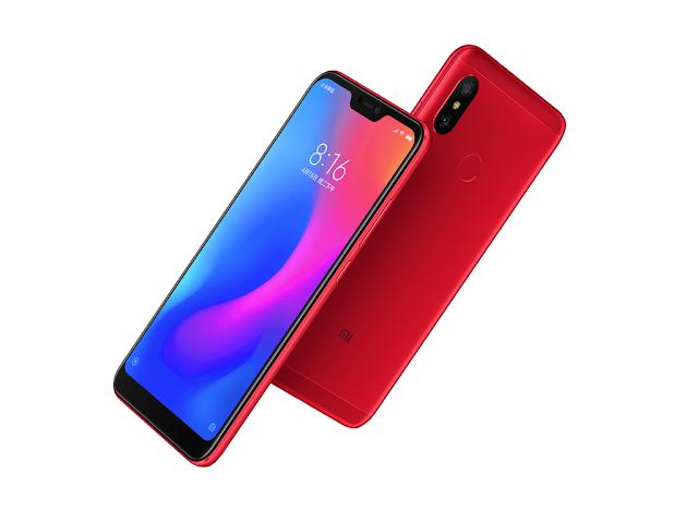 Xiaomi Redmi 6 Pro dengan Layar Penuh Berponi
