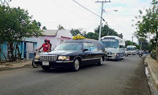 La caravana fúnebre