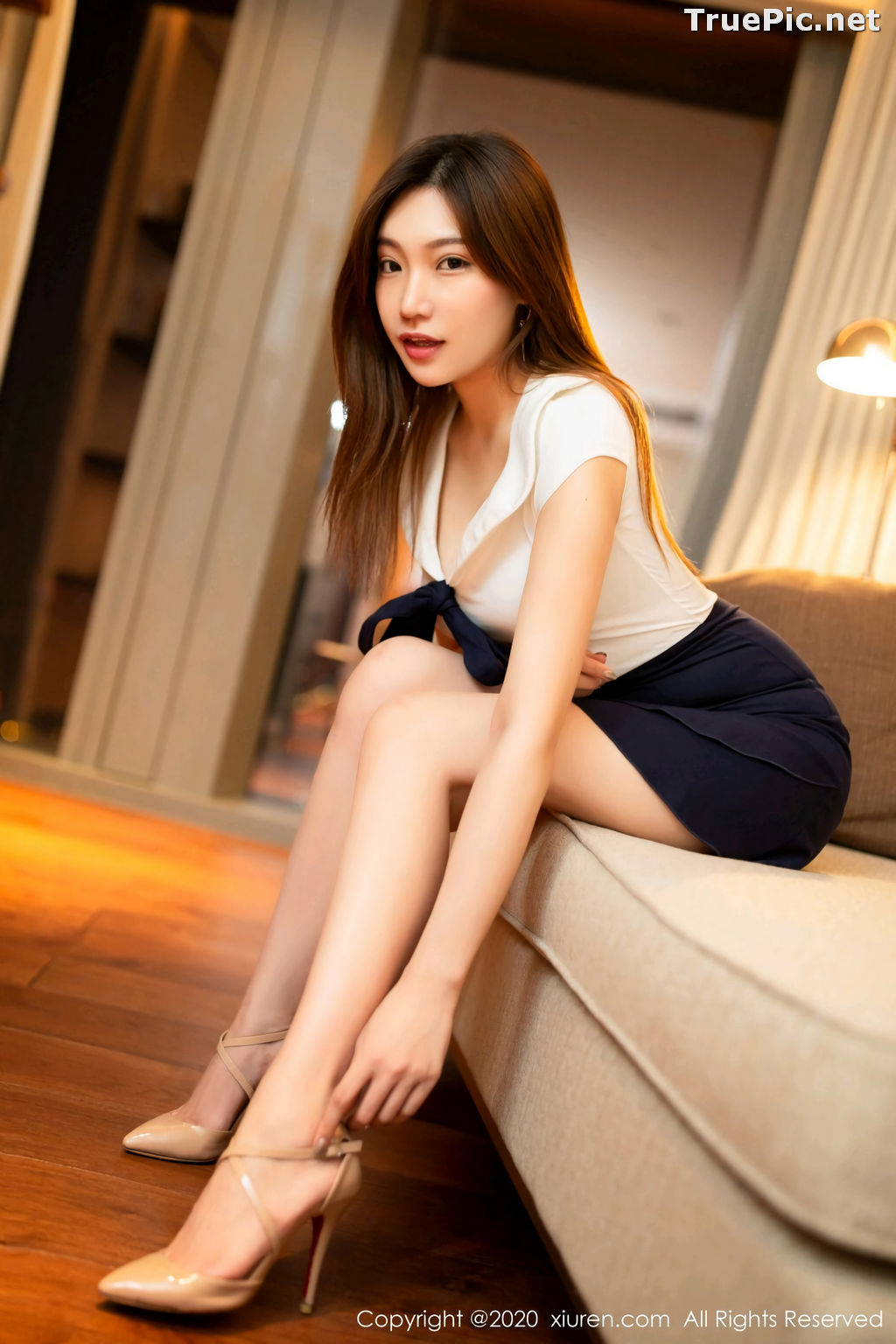 Image XIUREN No.2306 - Chinese Model - Xiao Hu Li (小狐狸Kathryn) - TruePic.net - Picture-7