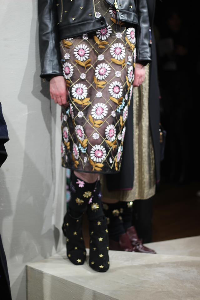 london fashion week designer aw16