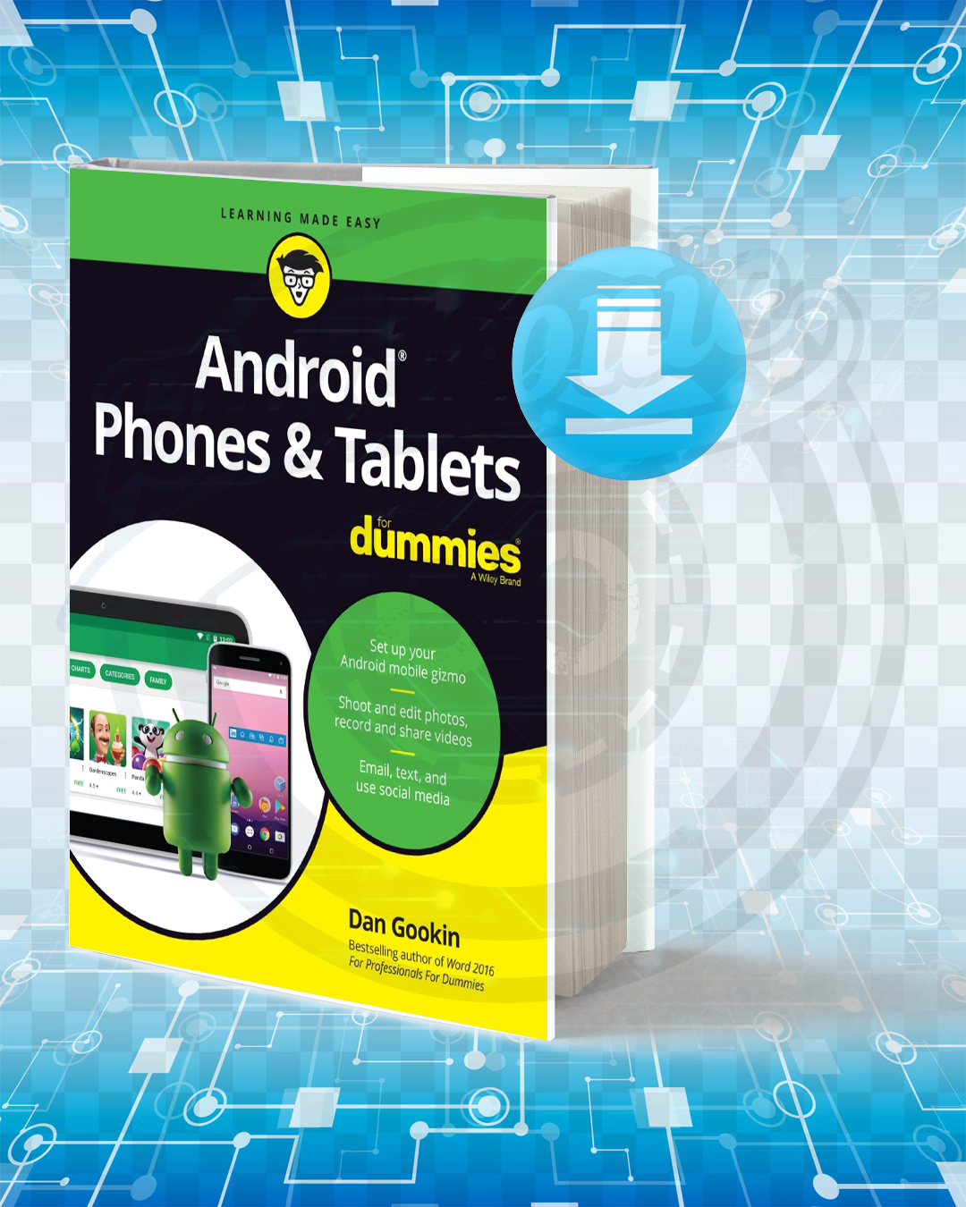 Free Book Android Phones & Tablets For Dummies pdf.