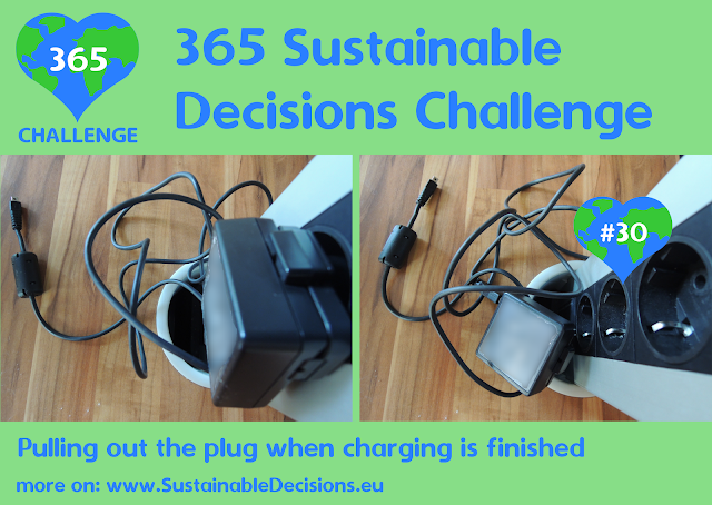 #30 - Pulling out the plug when charging is finished, saving energy, sustainable living, sustainability, climate action