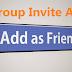 طريقة إضافة جميع الأصدقاء إلي الجروب دفعة واحد