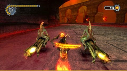 Foranimeku - Ghost Rider PSP