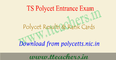 TS Polycet results 2019, Polytechnic result download telangana