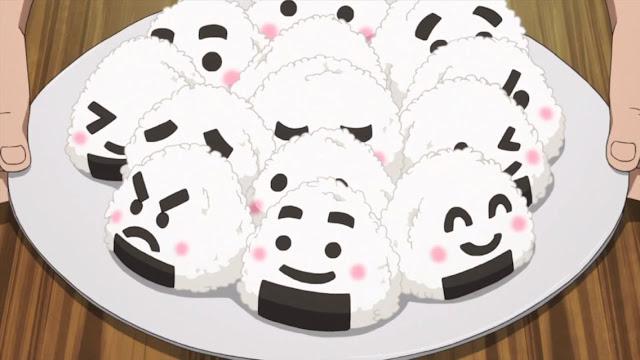 anime food onigiri