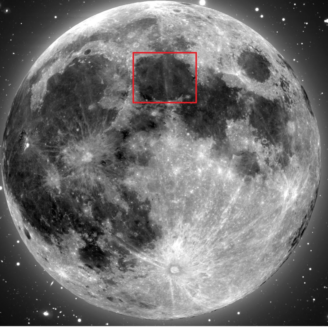 Where Is The Buddha   Image Of Jesus Christ On The Moon