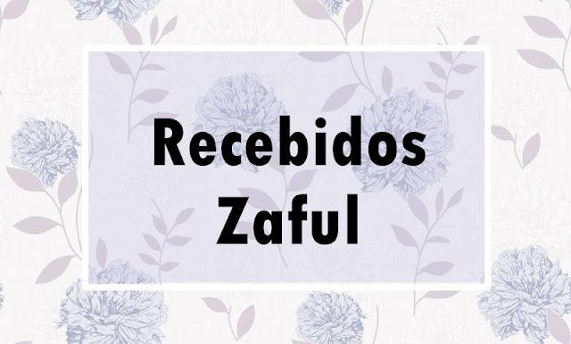 Recebidos acumulados da loja Zaful