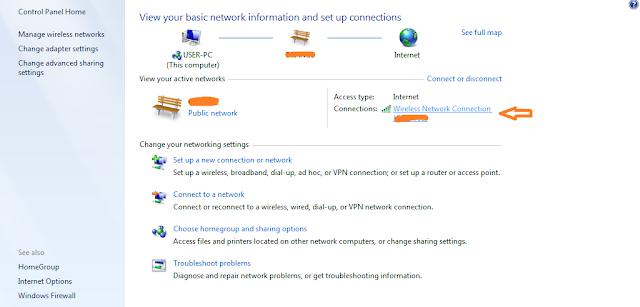cara mengetahui password wifi di pc