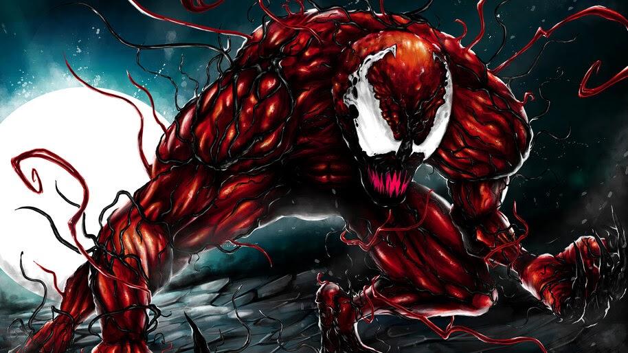 Carnage, Marvel, Supervillain, 4K, #4.3144
