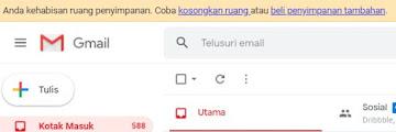 +GAMBAR! Cara Mengatasi Google Drive Penuh dan Cara Menghapusnya