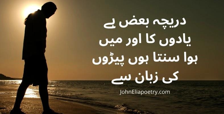 Daricha Baaz Hai Yaadon Ka Aur Main JohnElia