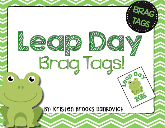 Leap Day Brag Tags