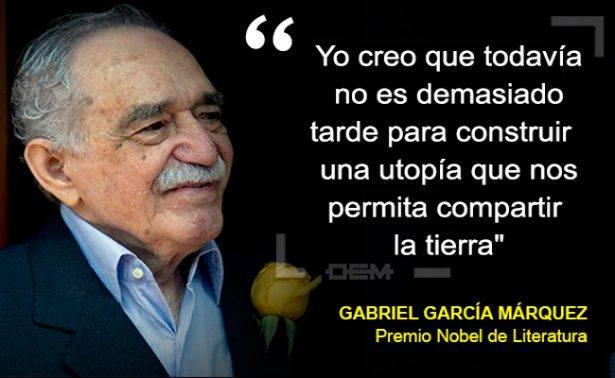 Hoy 6 de marzo Gabriel García Márquez hubiese cumplido 90 años.