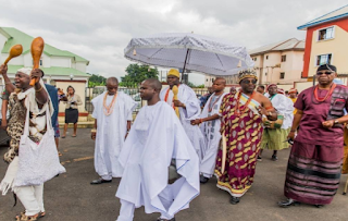 Photos of Rochas Okorocha,Ooni of Ife and others at the 2017 Imo yam Festival