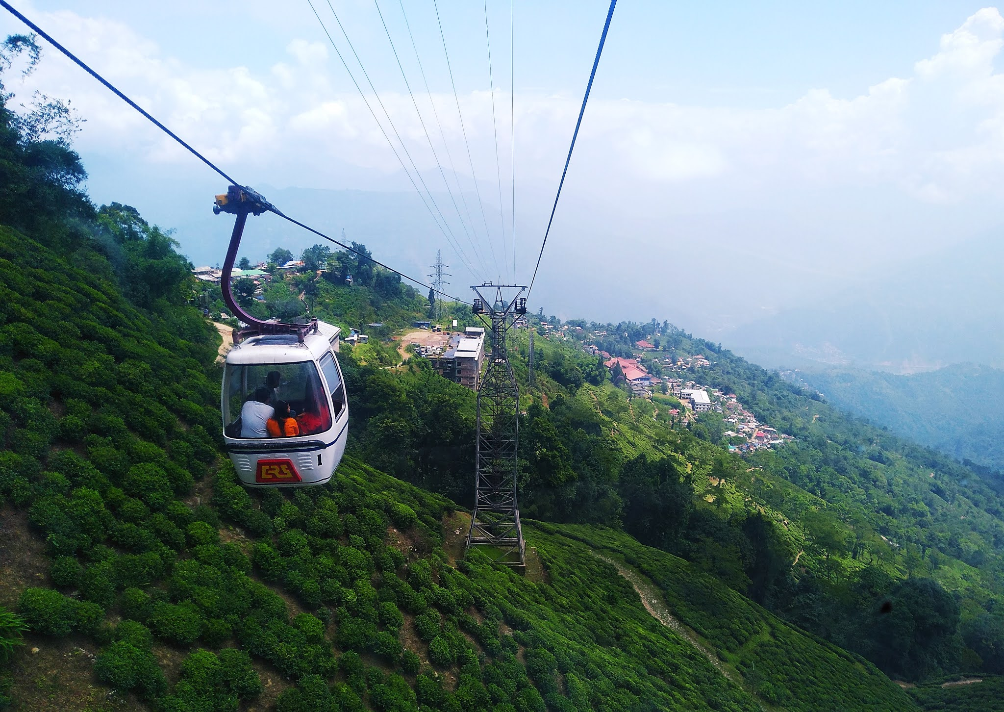 mindblowing view from Ranjit vally Roapway and panoramic view of darjeeling