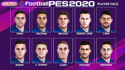 PES 2020 Facepack Levante UD by Tsunami