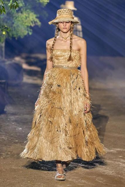 Модное платье весна-лето 2020 35