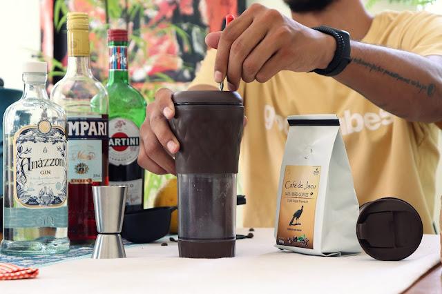 Cold Brew Negroni, um drink espetacular!