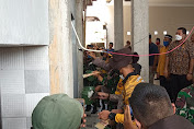 Latsitardanus XLI 2021 Ikut Renovasi Masjid AT - Taufig di Medan