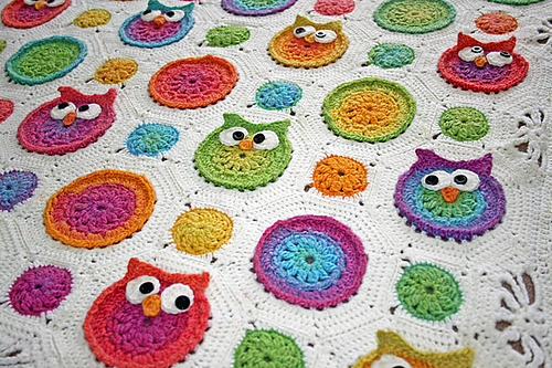 Free Crochet Patterns Magnificent Owl Afghan Crochet Pattern Free