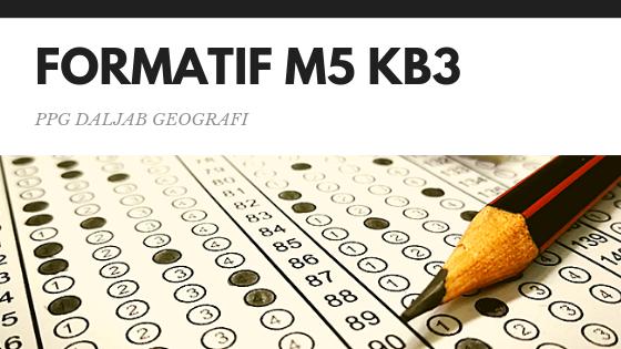 Soal dan Jawaban Tes Formatif Modul 5 KB 3