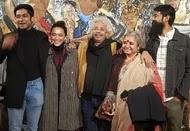 Sayani Gupta with her family