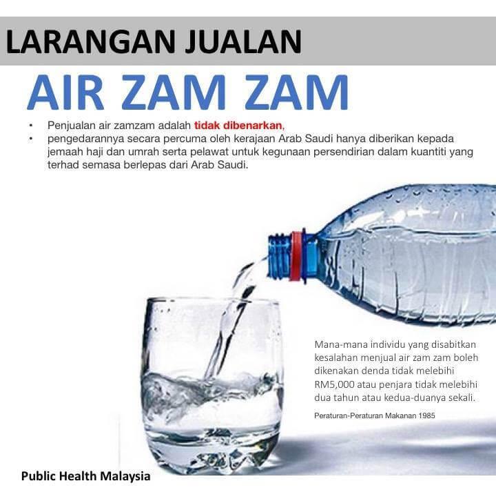Menjual Air Zam-zam