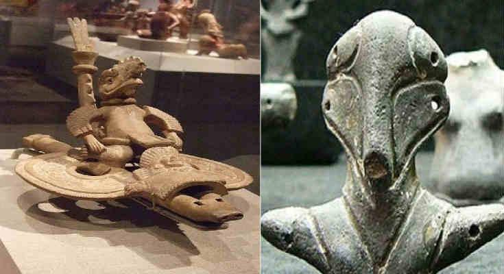 Επτά έργα Αρχαίας Τέχνης που αποδεικνύουν ότι οι «Θεοί» ήταν εδώ