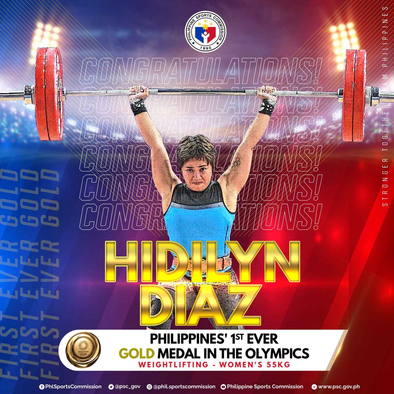 Hidilyn Diaz wins PH's first-ever Olympics gold