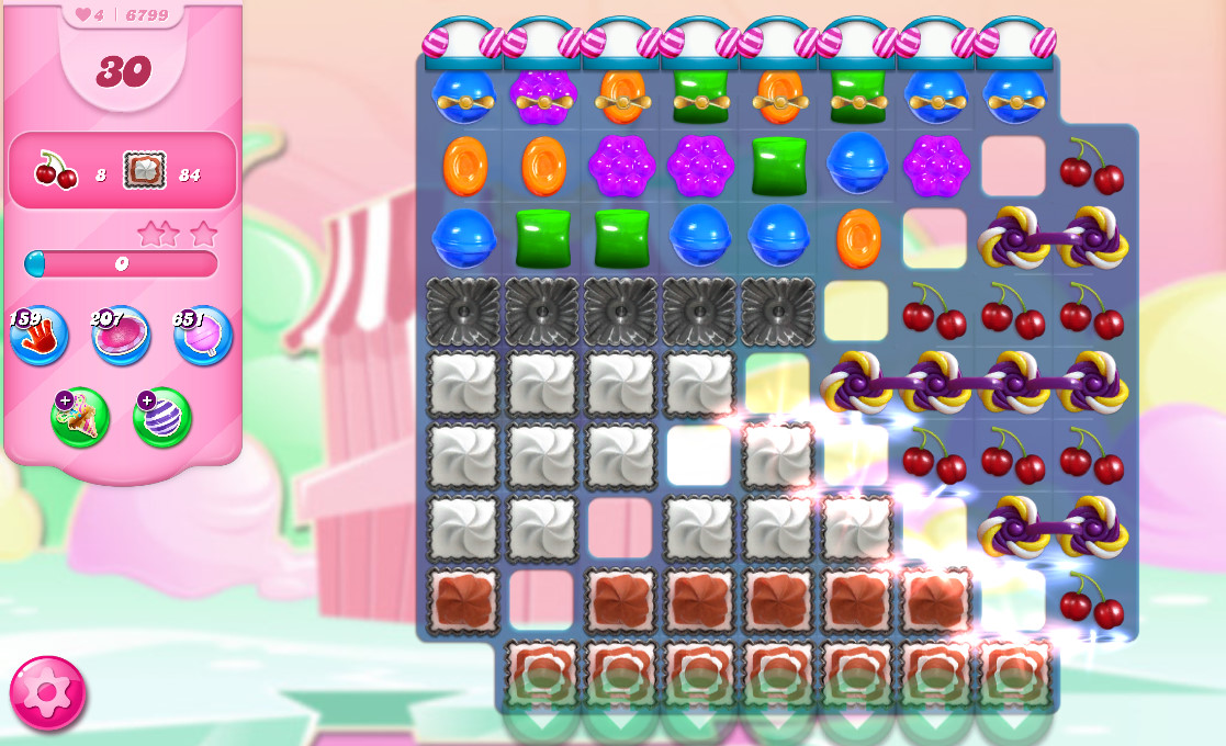 Candy Crush Saga level 6799
