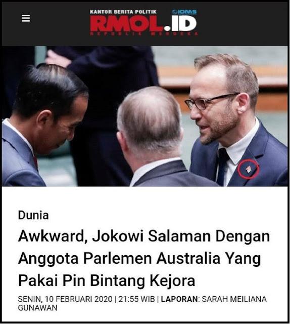 Hancurnya Martabat Indonesia, Antek-Antek Papua Merdeka Permalukan Jokowi di Australia