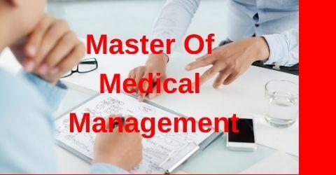 Master Of Medical Management