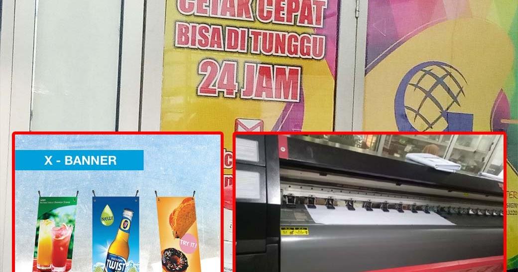 Cetak X Banner Murah Jakarta - Global Printing Jakarta ...