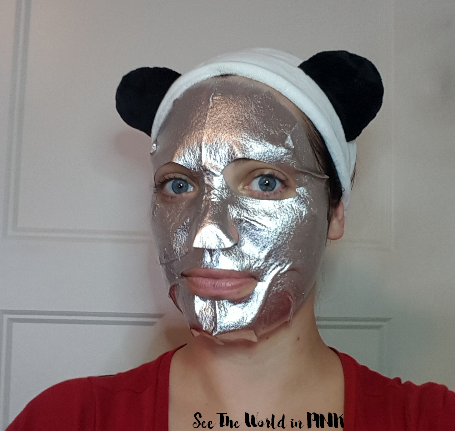 Mask Wednesday - The Face Shop MASK.LAB Anti-Aging Foil Face Mask Try-on and Review!