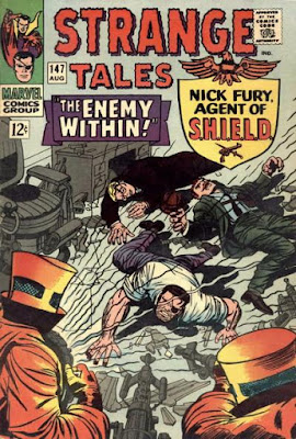 Strange Tales #147, Nick Fury helpless before AIM