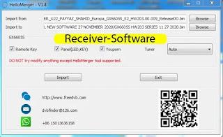 Hello Merger V1.4 Tool For Cs8001 & Gx6605s Auto Adjustment