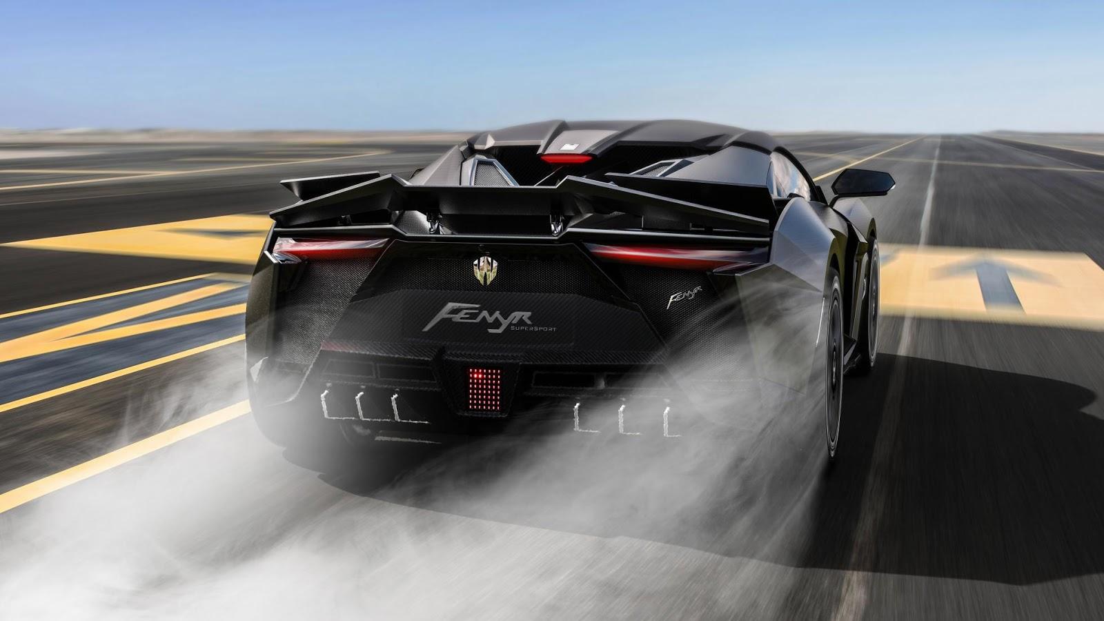 Fenyr Supersport by W Motors – Pabrik Hypercar dari Timur Tengah