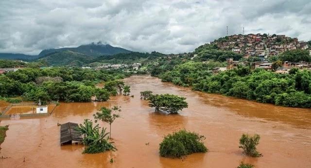 mortes decorrentes das chuvas que atingiram Minas Gerais
