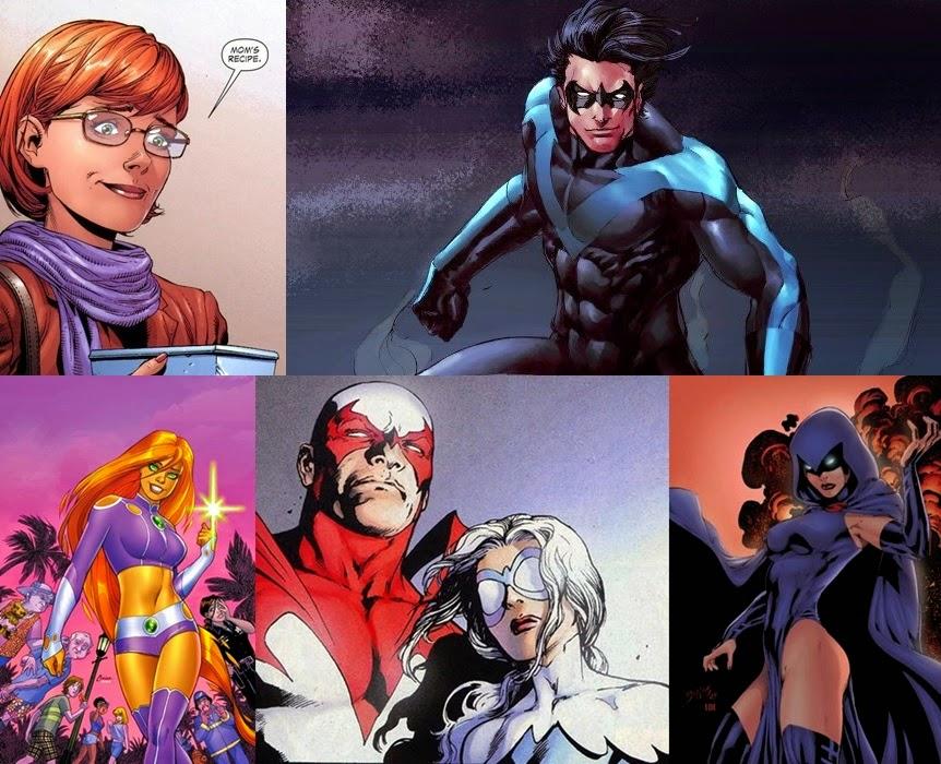 Barbara Gordon Earth 1 001 horz vert - Aquaman, Jovens Titãs, Inferno, Noturno e Vingadores