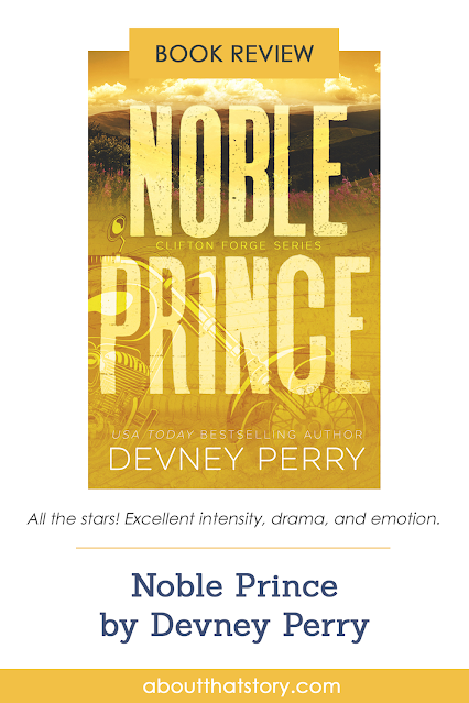 Book Review: Noble Prince by Devney Perry   About That Story